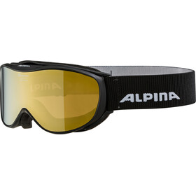 Alpina Challenge 2.0 Multimirror S2 Goggle black gold